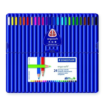 Staedtler Ergosoft Colored Pencils