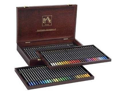 caran d'ache museum aquarelle watercolor pencils