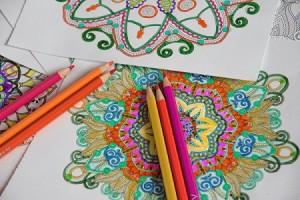 colored pencil technique