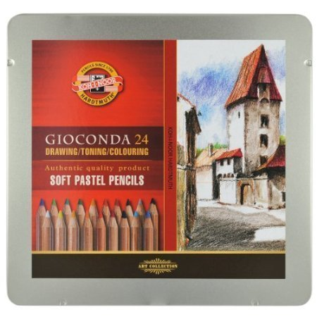 Koh-i-noor Gioconda Soft Pastel Pencils Review