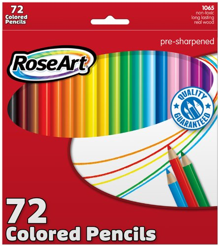 Rose Art Colored Pencils Review