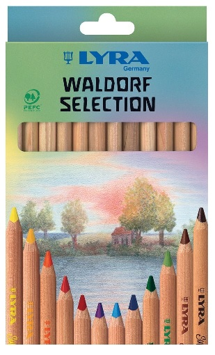 Lyra Waldorf Selection Colored Pencils Review