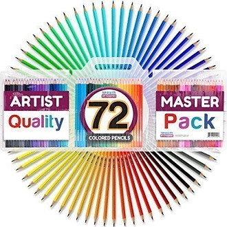 Top Quality Art Supplies Colored Pencils Review