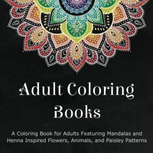 adult coloring books a coloring book for adults featuring mandals