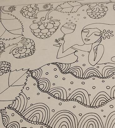 need for color when dreams come true coloring book
