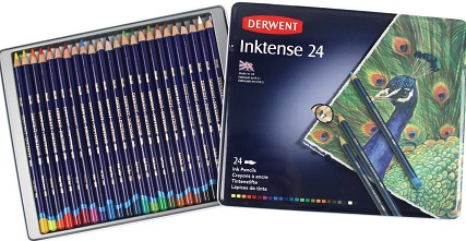 derwent inktense watercolor pencil review