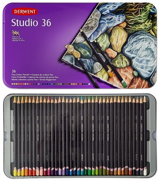 Derwent Studio Colored Pencils Review