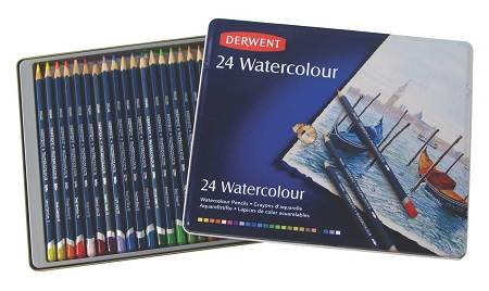 Derwent Watercolor Pencils Review