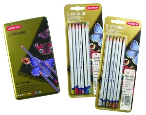 Derwent Metallic Pencils Review
