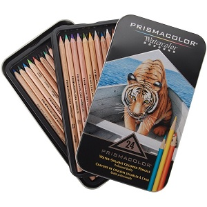 Prismacolor Watercolor Colored Pencils Review