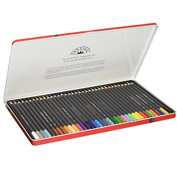 Fantasia Artist Colored Pencils Review