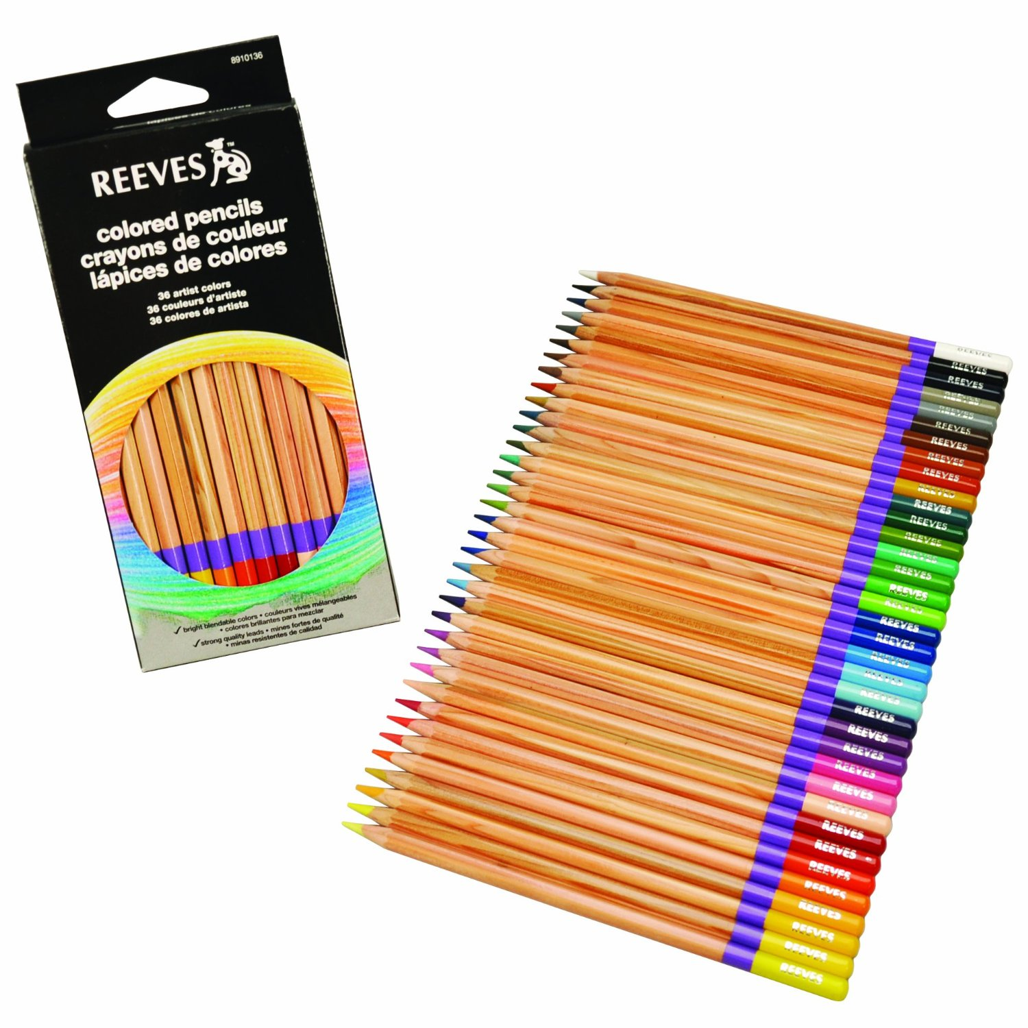 student colored pencils