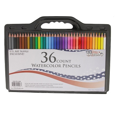us art supply watercolor pencils