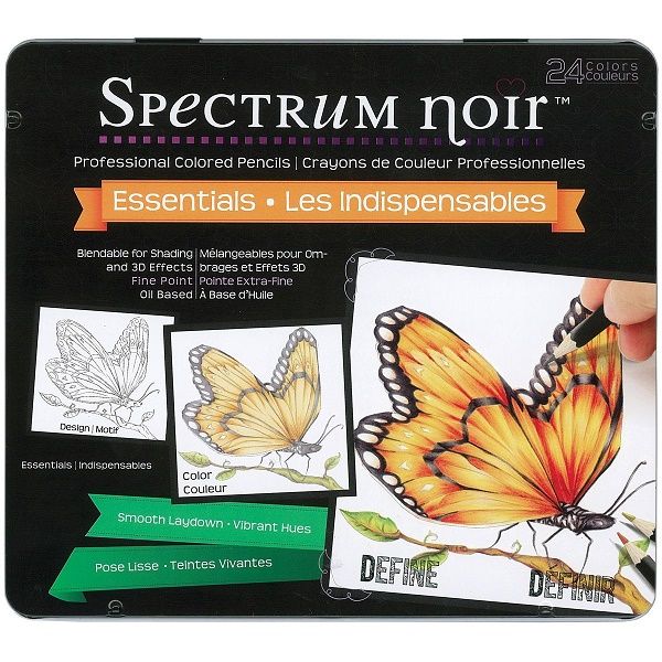 Spectrum Noir Colored Pencils Review