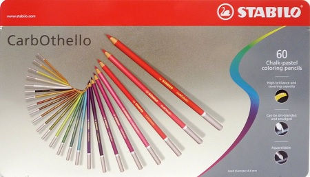 Stabilo CarbOthello Pastel Pencils Review