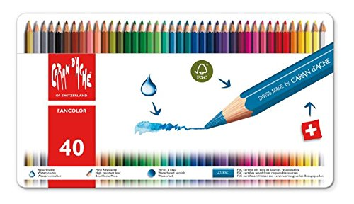 Caran d'Ache Fancolor Colored Pencils