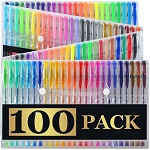 Artist's Choice 100 Gel Pens with Case Extra Large Set thumbnail