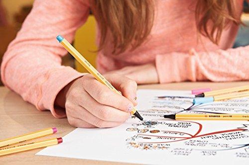 colored pen application