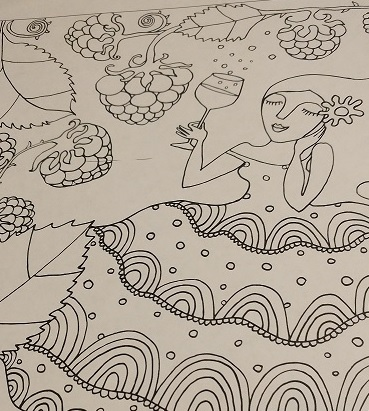 need for color when dreams come true coloring book