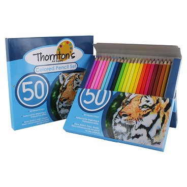 Thornton's Art Supply Colored Pencils Review