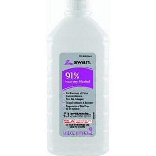 Rubbing alcohol: not just for treating cuts!