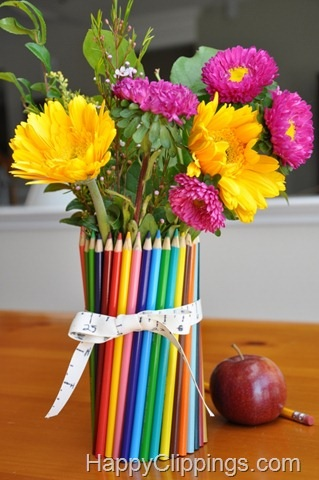 Colored Pencil Vase A Fun New Twist With Colored Pencils