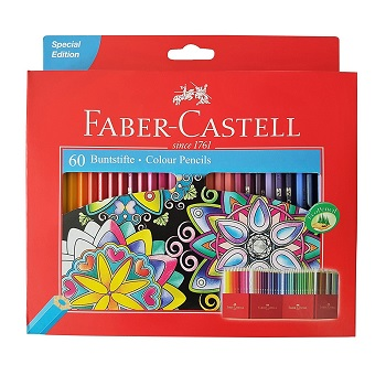 Faber Castell Clice Colored Pencils Review