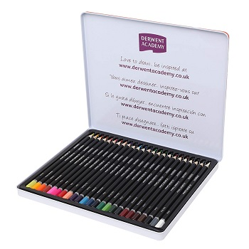 derwent academy colored pencils review