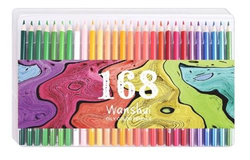 wanshui colored pencils packaging