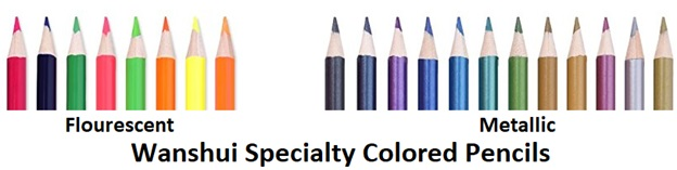 wanshui specialty colored pencils