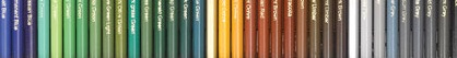 Blick Studio Colored Pencils color range