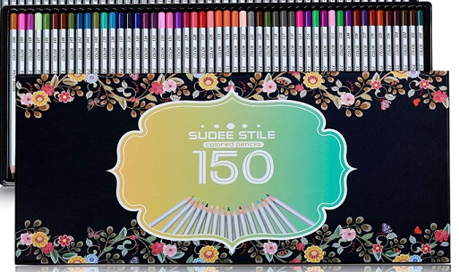 sudee stile colored pencils packaging