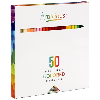 artlicious colored pencils review