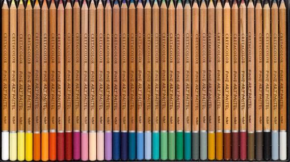 cretacolor pastel pencils packaging