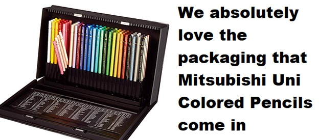 Mitsubishi Uni Colored Pencils packaging