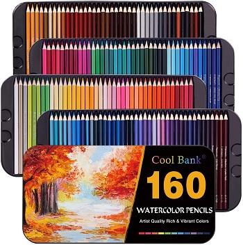 cool bank watercolor pencils review