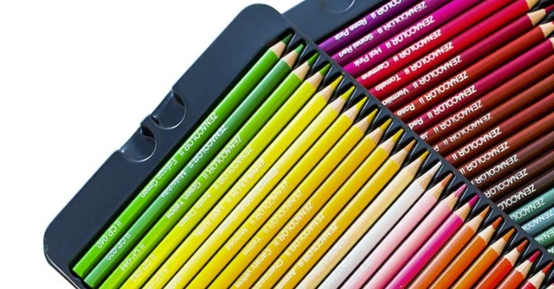 zenacolor colored pencils barrel
