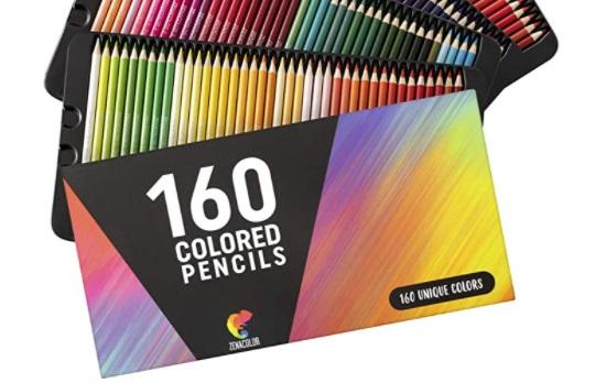 zenacolor colored pencils packaging