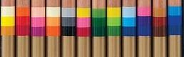 koh-i-noor tri-tone colored pencil labeling