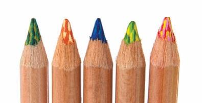 koh-i-noor tri-tone colored pencil tips