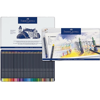 Faber Castell Goldfaber Colored Pencils Review